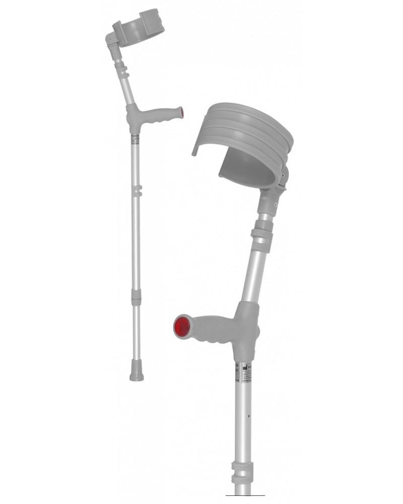 Костыль локтевой с захватом и двумя регулировками 09/MR