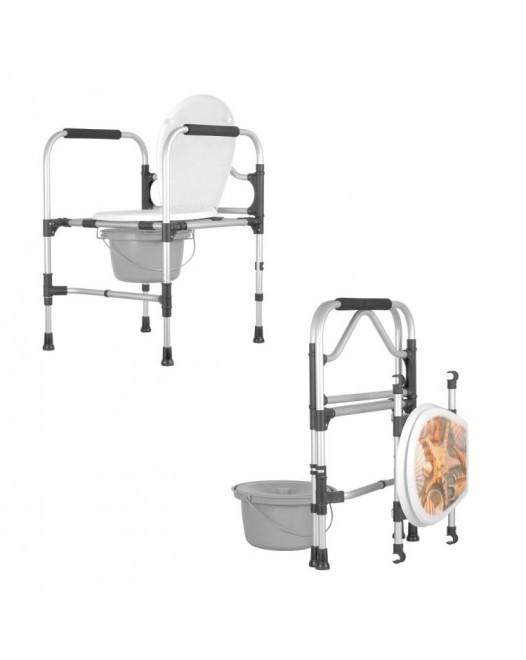 Кресло туалет складной KS/MR/SK